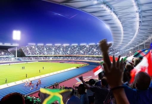 Green light for £72m Commonwealth  Games stadium