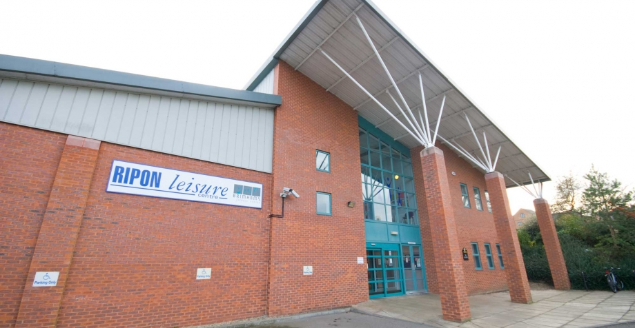 Ripon Leisure  centre refurb date confirmed